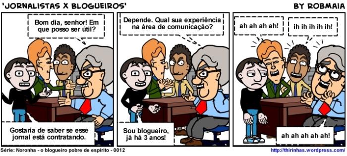 Episódio 12 - Jornalistas x Blogueiros.