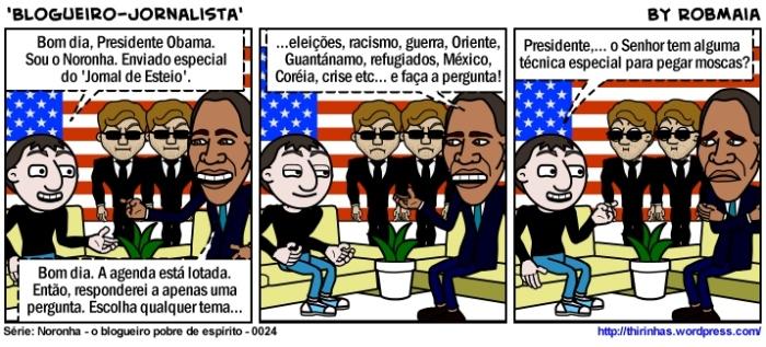 Episódio 24 - Blogueiro-Jornalista.