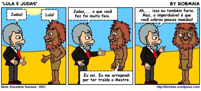 Episódio 1 - Lula e Judas.