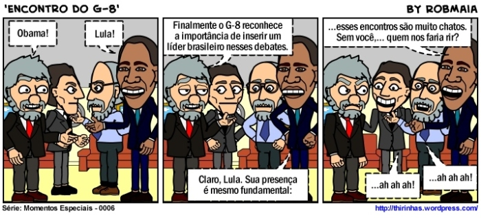 Episódio 6 - Encontro do G-8.