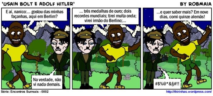 Episódio 2 - Usain Bolt e Adolf Hitler.