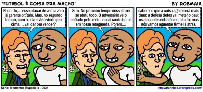 Episódio 21 - Futebol é Coisa Pra Macho.