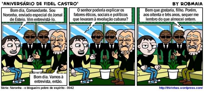 Episódio 42 - Aniversário de Fidel Castro.