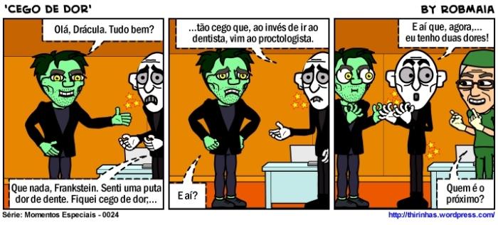 Episódio 24 - Cego de Dor.