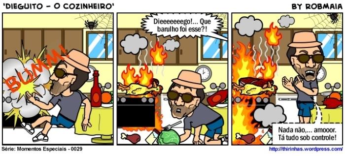 Episódio 29 - Dieguito - O Cozinheiro.