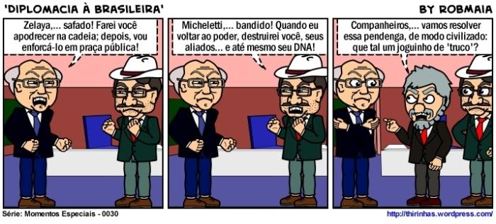 Episódio 30 - Diplomacia à Brasileira.