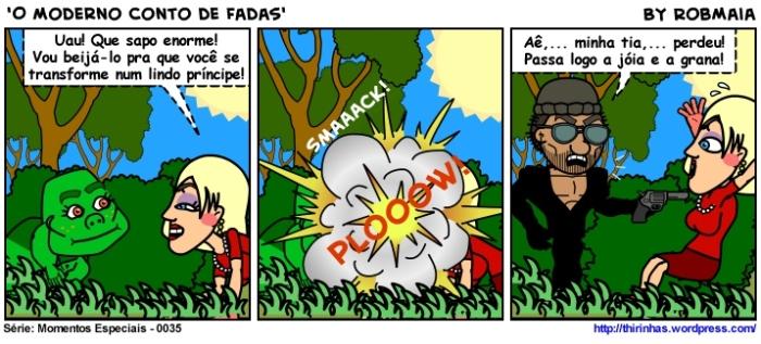 Episódio 35 - O Moderno Conto de Fadas.