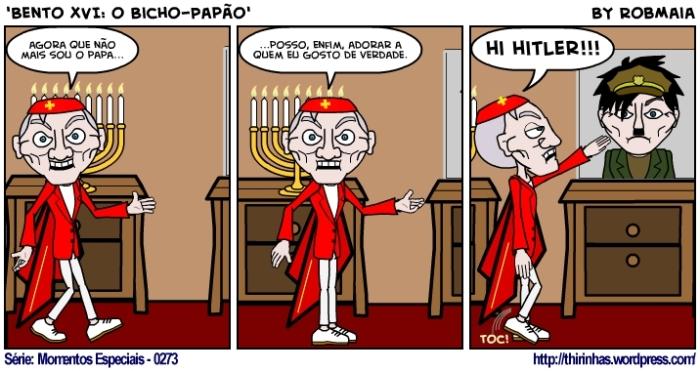 Episódio 273 - Bento XVI - o Bicho-Papão